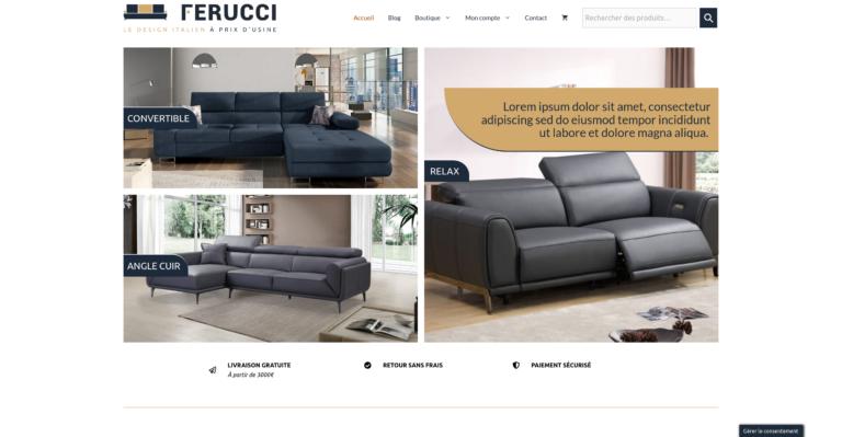 Illustration du site Ferucci